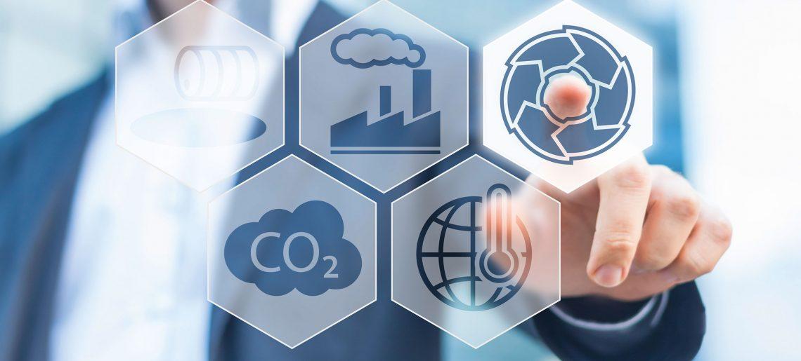 Koppling till den miljövänliga ekonomin